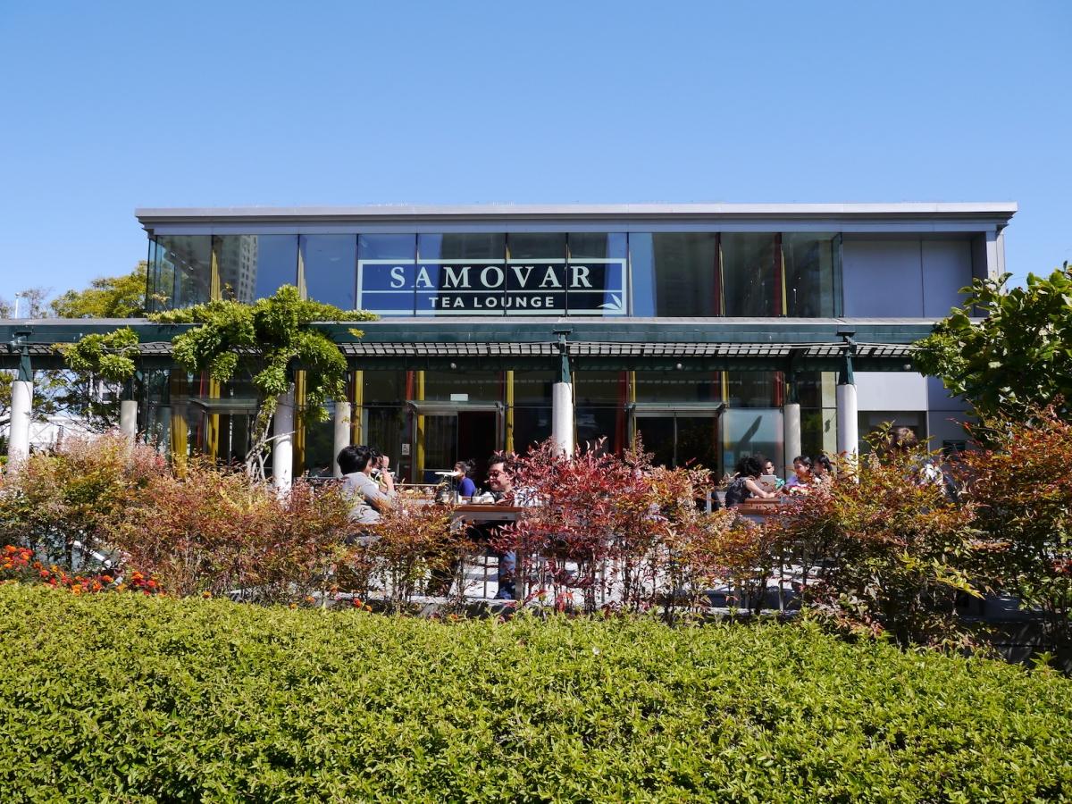 深具禪意的 Samovar Tea Lounge 茶館