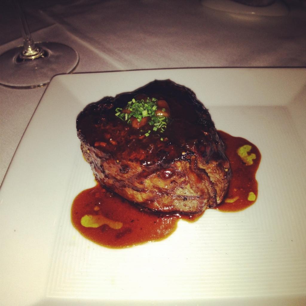 米其林星級的乾式熟成牛排:Dry-aged steak at Alexander's Steakhouse