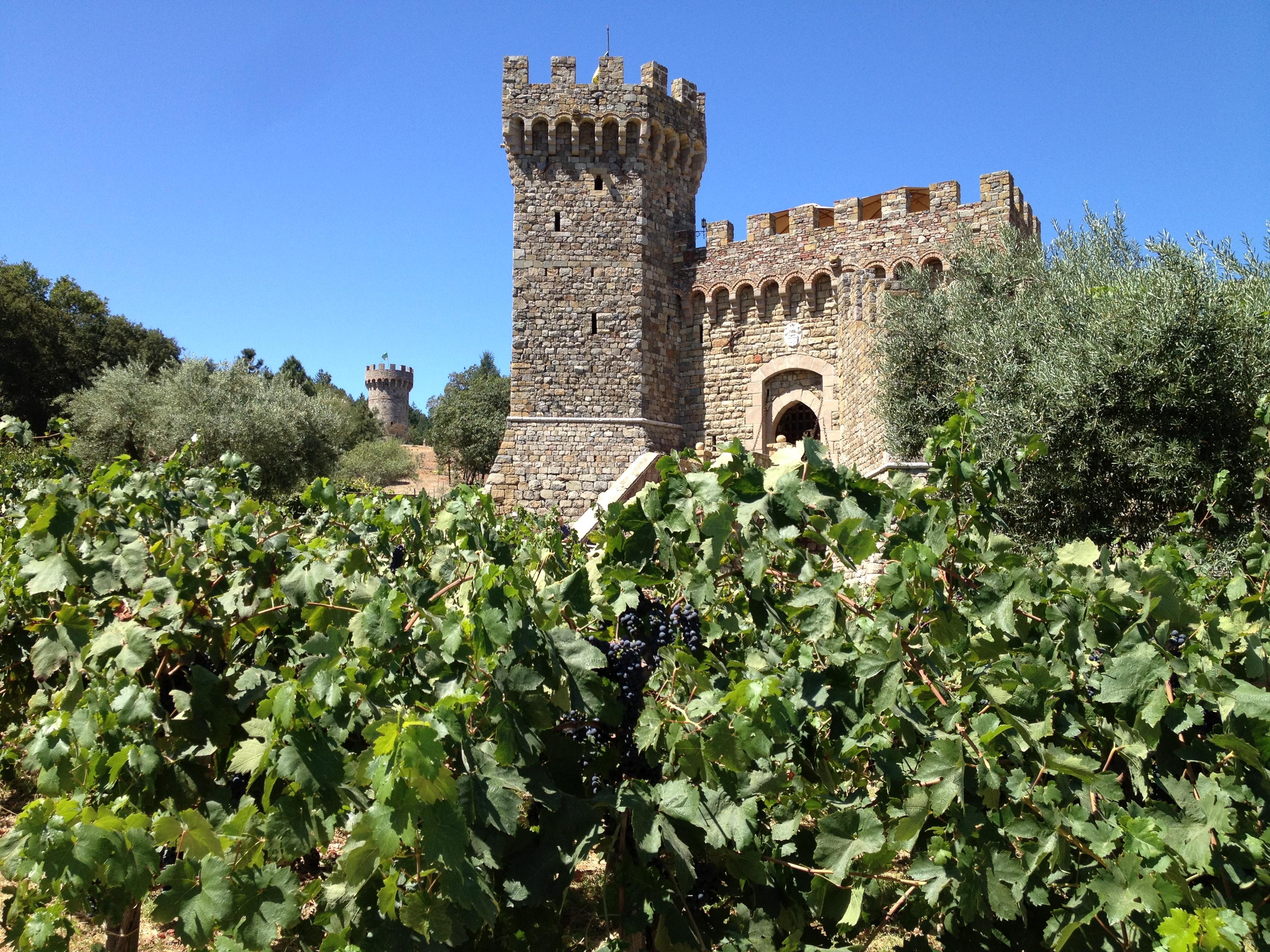 納帕酒鄉古堡酒莊:Castello di Amorosa in NAPA