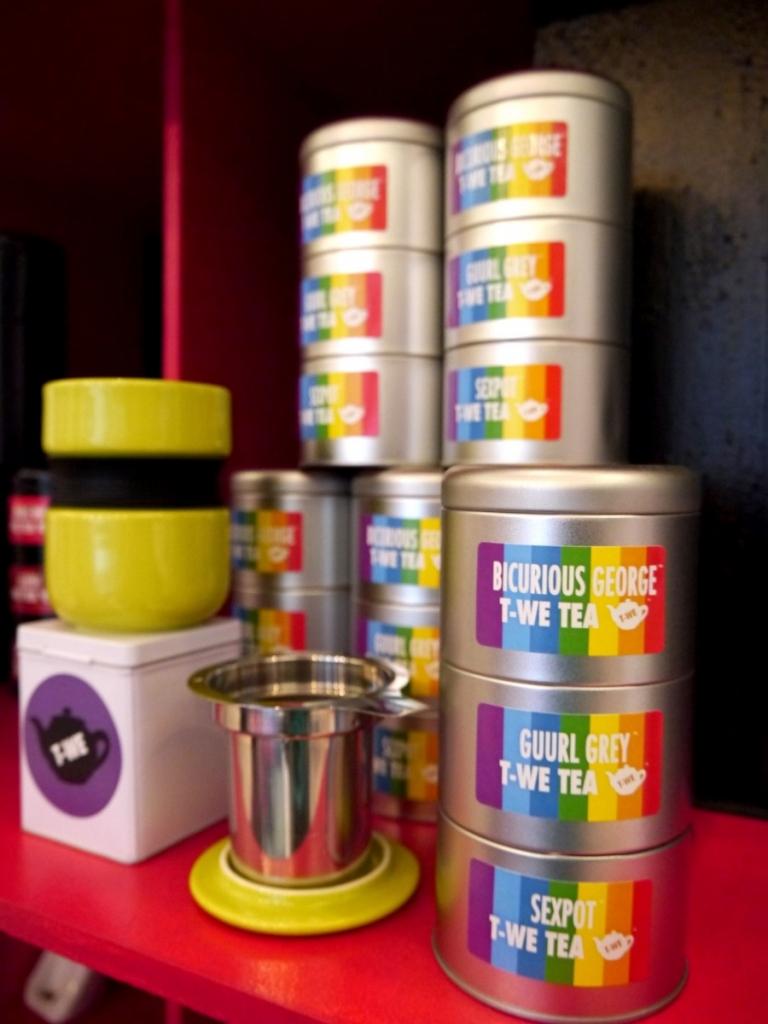 美國飲茶文化&舊金山創意調配茶:T-We Tea
