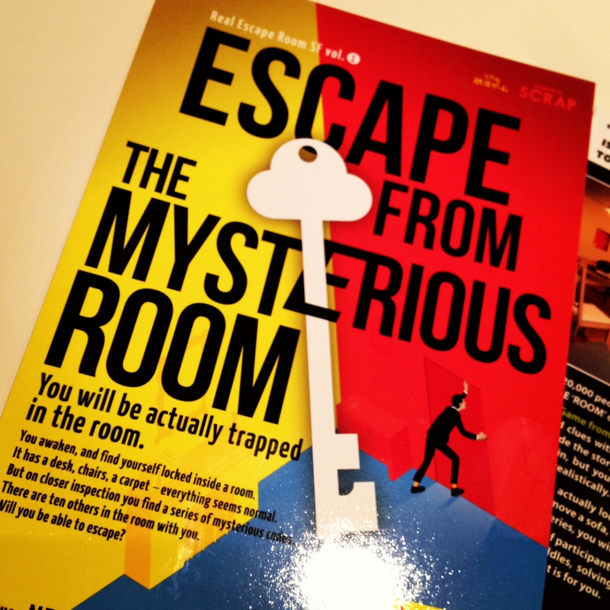 舊金山密室脫逃!Real Escape Game in SF