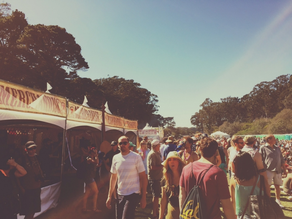舊金山藍草音樂節 Hardly Strictly Bluegrass