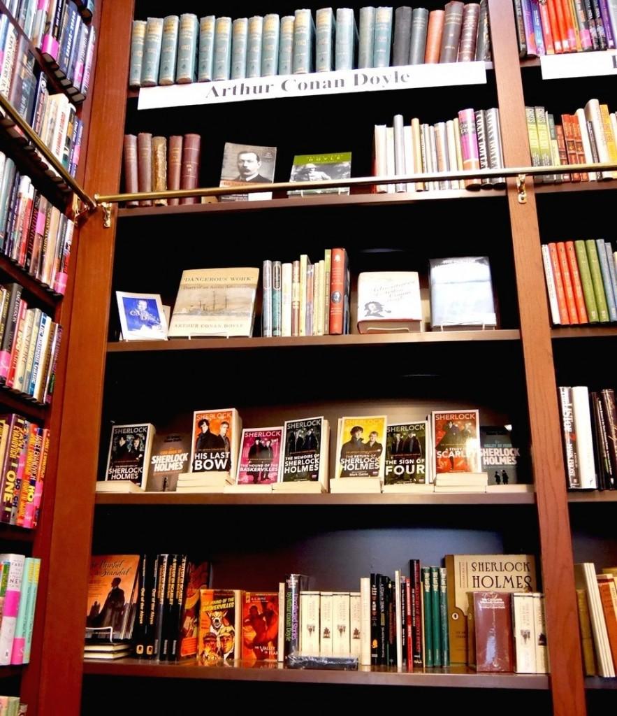 世界最大的福爾摩斯收藏:The Mysterious Bookshop in NYC