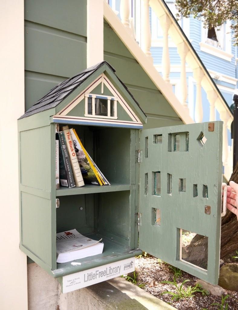 書籍無價共享:免費小圖書館 Little Free Library