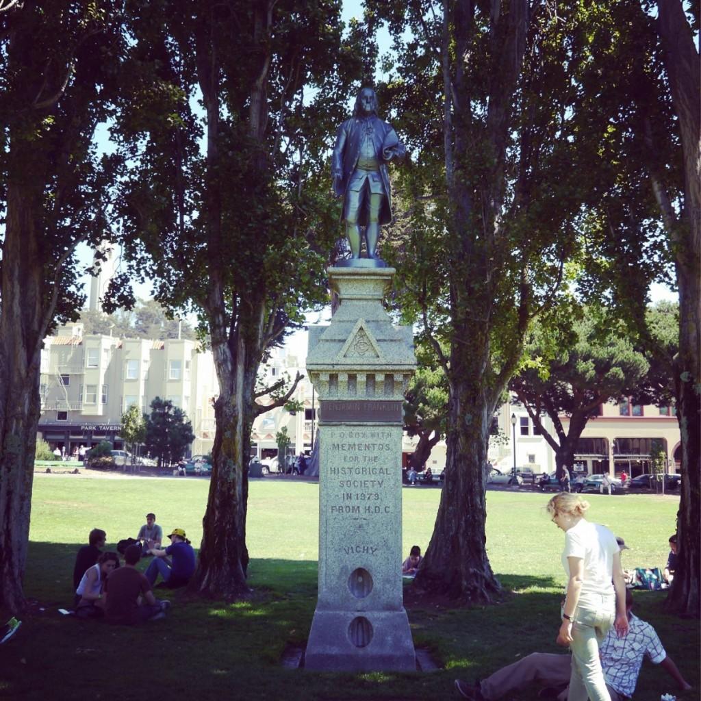 舊金山的秘密時空膠囊:華盛頓廣場